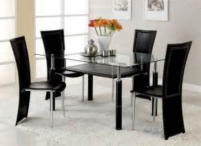 Black Dining Room Set Designs Fantastic Black Dining Room Set Glass Dining Table Dining Decorate