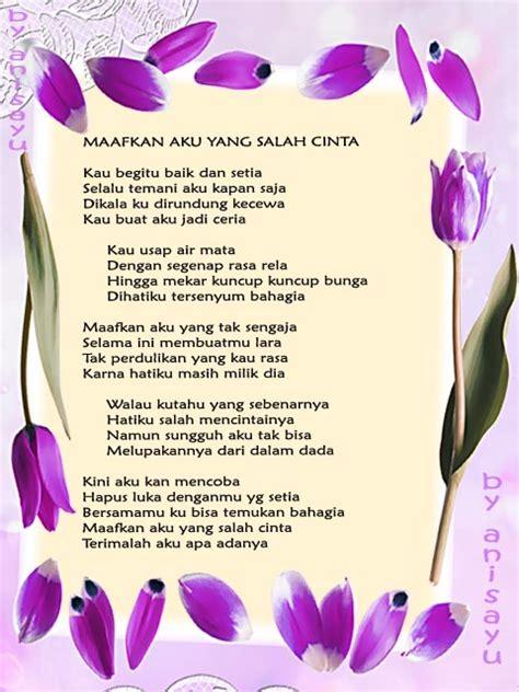 puisi cinta  anisayu kumpulan puisi cinta sedih