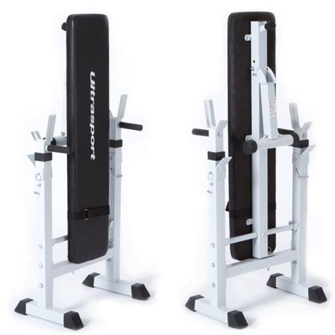 weight bench that folds away ultrasport fold up weight bench maximum total load