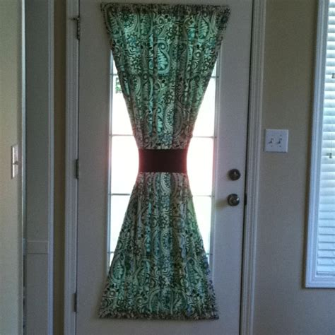 kitchen door curtain ideas