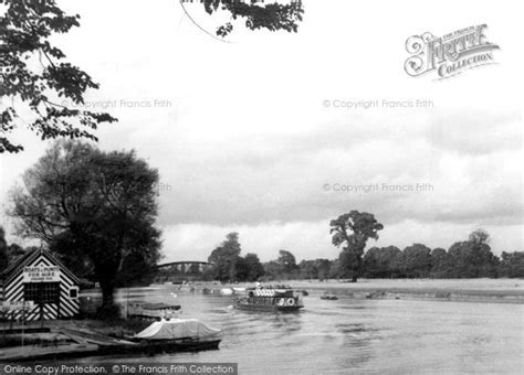 river thames boat launch sites windsor launch on river thames c 1955 francis frith