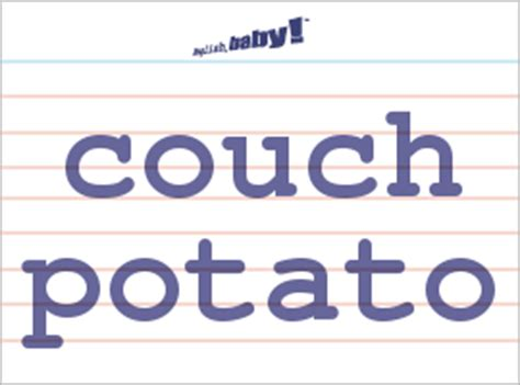 couch potato meaning what does quot couch potato quot mean learn english at english