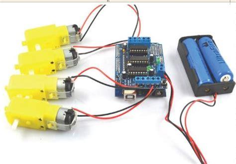 Diskon L293d Shield Motor Driver L293 Arduino 293 l293d motor drive shield expansion board for mcu