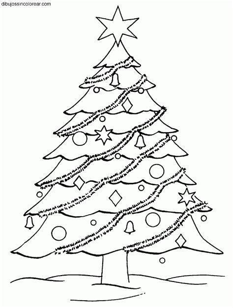 arbol navidad dibujo dibujos colorear dibujos de arboles de navidad para