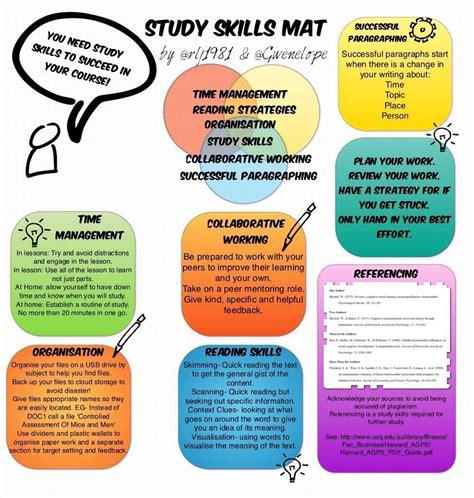 study skills mat teaching ideas