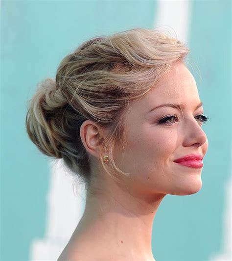 hairstyles short hair bun side major princess braid low curly bun hair style