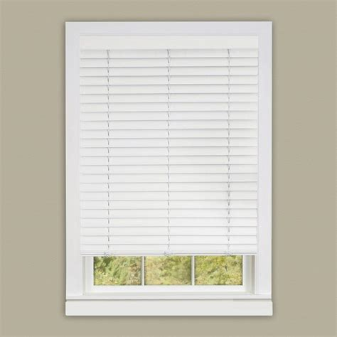 Vinyl Mini Blinds Woodgrain 2 In Light Filtering Vinyl Mini Blind 36