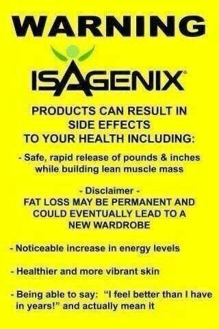 Lifetime Fitness Detox Side Effects quotes isagenix lifestyle quotesgram