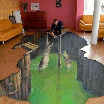 awesome 3d flooring art and 3d bathroom floor murals