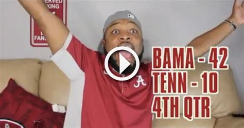 how alabama fans watched video comedian parodies how alabama fans watched sec