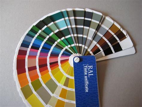 tavola colori ral tinte ral
