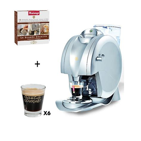 Malongo Machine à Café 1745 by Machine Expresso Oh Matic 24 Doses 6 Verres Caffeino