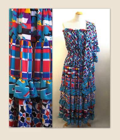 Elx Aleza Blouse Jumbo summertime blues vfg fashion parade for week of july 22nd vintage fashion guild forums