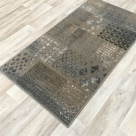 Patchwork Direct - silver grey patchwork wilton rug cheap rugs flooring