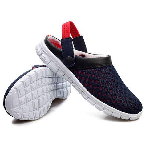 Sepatu Slip On Pria 3 Trip sepatu sandal slip on santai pria size 41