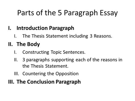 components of an essay the analytical essay ppt video online essay