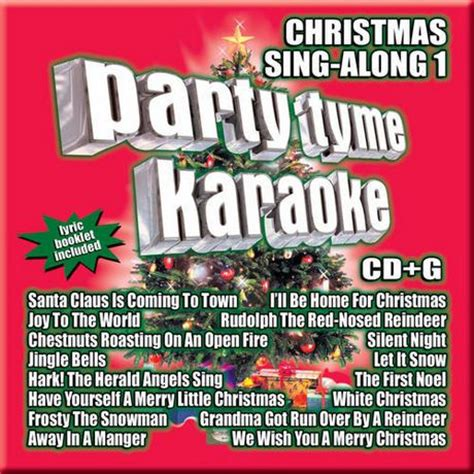 sybersound party tyme karaoke christmas sing along 1