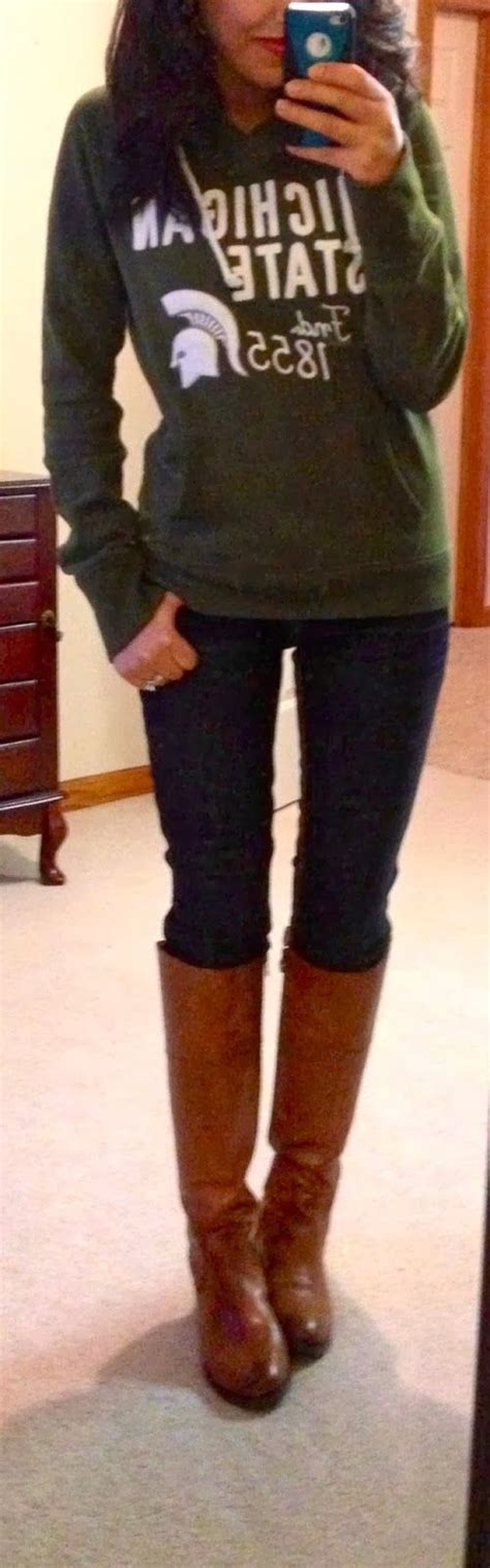 skinny jeans boots on pinterest nautical womens simple sweatshirt skinny jeans and long boots fashion