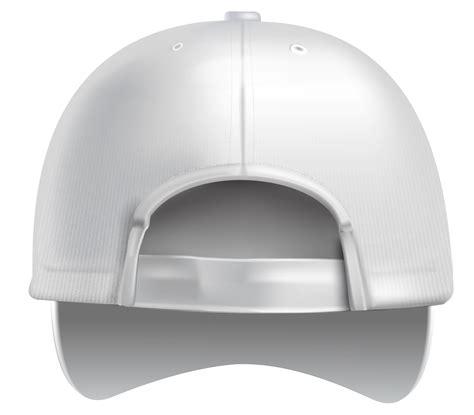 white plain baseball cap back png clipart best web clipart