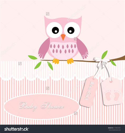 Baby Shower Background Clipart by Baby Owl Clipart 66