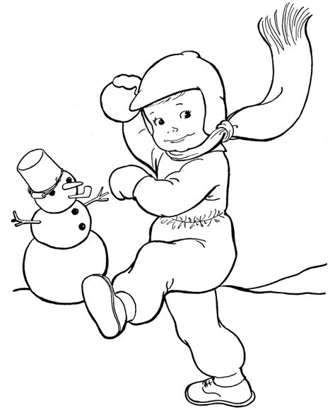 coloring pages winter free free printable winter coloring pages for kids