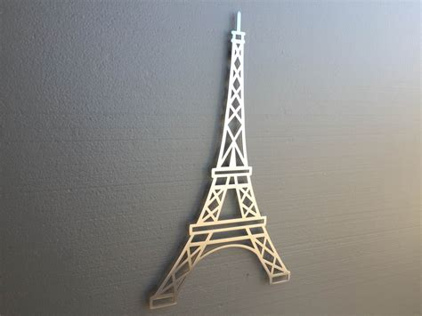 eiffel tower metal wall home by inspiremetals