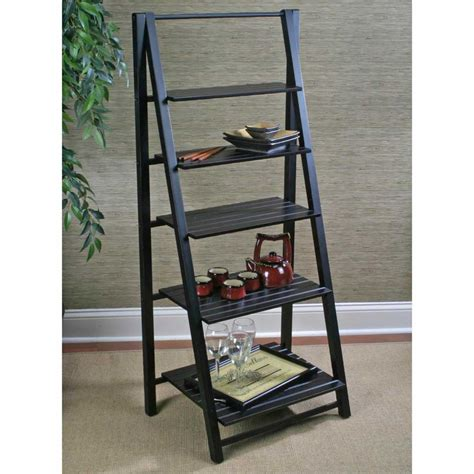 Leaning Ladder Bookshelves Plans For Office Ladder Bookcase Plans