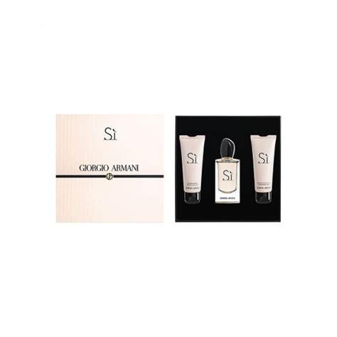 Harga Giorgio Armani Si Gift Set giorgio armani s quot si quot perfume in gift set for
