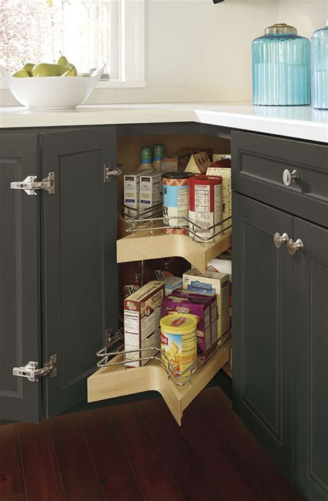 Lazy Susan Pullout Cabinet   Decora Cabinetry