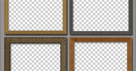 cornici psd designeasy free psd wooden frames