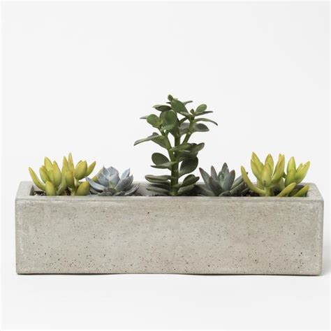windowsill planter indoor concrete windowsill planter kestrel