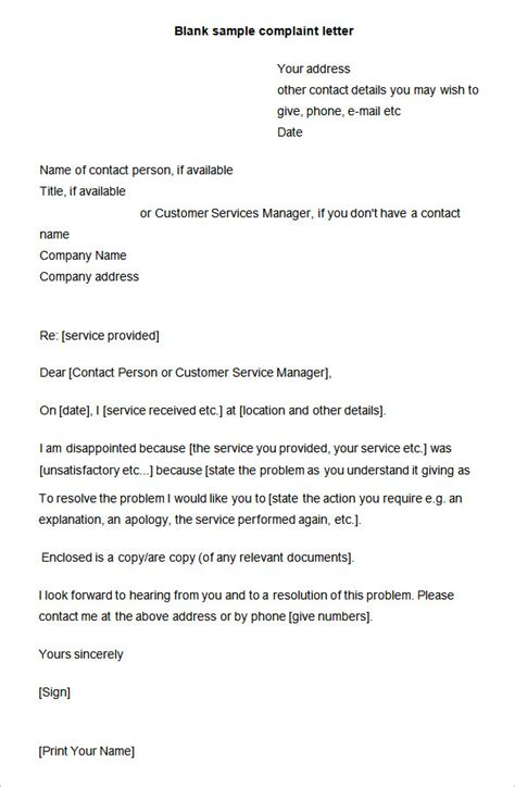 best solutions of sample of a complaint letter about your boss in 15