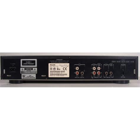 format audio cd normal philips cdr 765 image 256468 audiofanzine