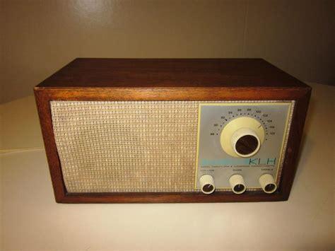 Desk Radio by Speakerholic Klh Model 21 Table Radio