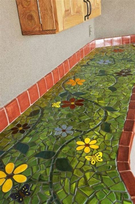 Mosaic Kitchen Countertop Ideas by Design I And Outdoor Kitchens On