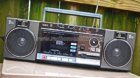 aiwa radio cassette recorder 4 band stereo radio cassette recorder radio aiwa co ltd t