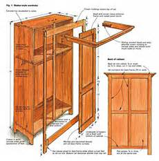building a shaker style wardrobe woodworking