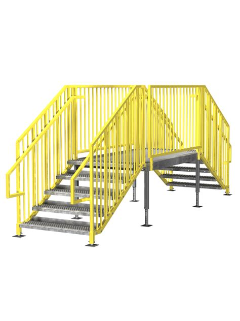 ibc stair design portable stairs prefab ibc osha options in stock
