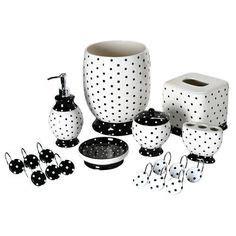 black and white bathroom accessories polka dot bathroom on polka dot bedroom frog