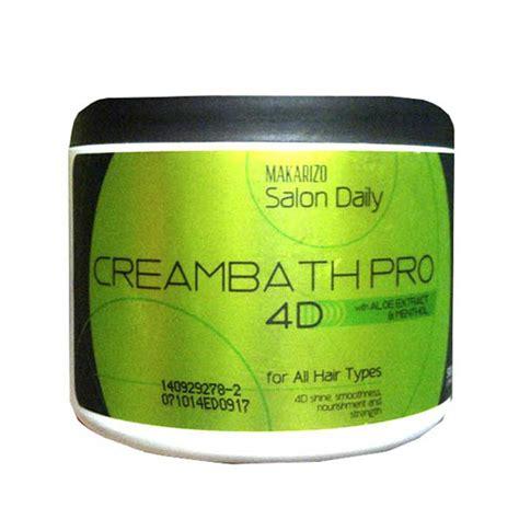 Harga Makarizo Masker jual makarizo salon daily creambath pro 4d 500 gram