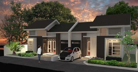 contoh gambar desain rumah minimalis  terbaru