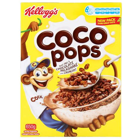coco pops buy kelloggs cereal coco pops 650g online at countdown co nz