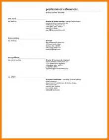 exle resume reference sheet bestsellerbookdb