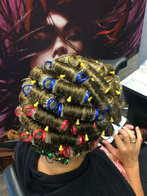 his hair in rollers 326 best salon boi s images on pinterest