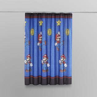nintendo shower curtain nintendo super mario shower curtain bed bath shower