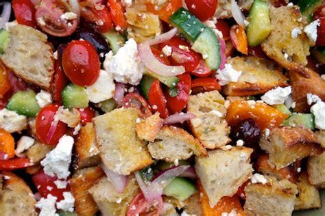 barefoot contessa greek salad panzanella salad barefoot contessa panzanella salad