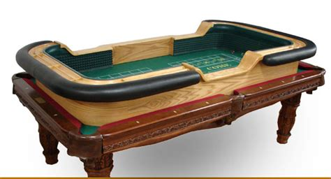 88 portable custom craps table for a pool table
