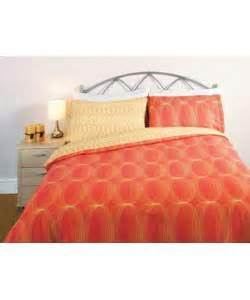 King Size Duvet Cover Orange Love2sleep Ovals King Size Duvet Cover Set Orange Duvet