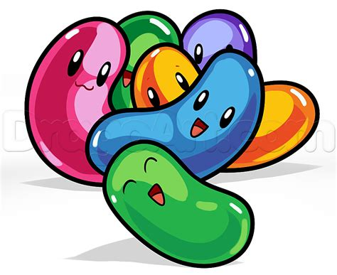 jelly bean tattoo how to draw jelly beans step by step easter seasonal