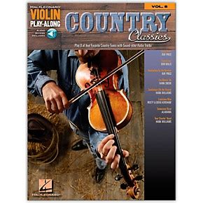 farraday country volume 8 books hal leonard country classics violin play along volume 8